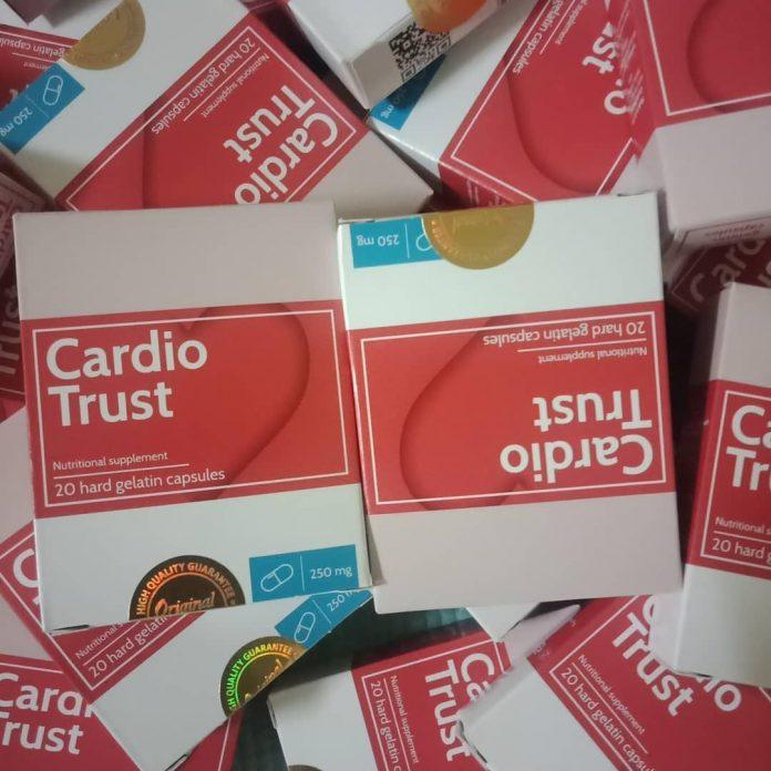 CardioTrust - testimoni - review - lazada